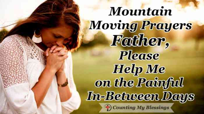 I'm praying because I can relate to in-between days ... painful days of confusion, overwhelming grief and unanswered questions. #Jesus #Easter #MountainMovingPrayers #CountingMyBlessings