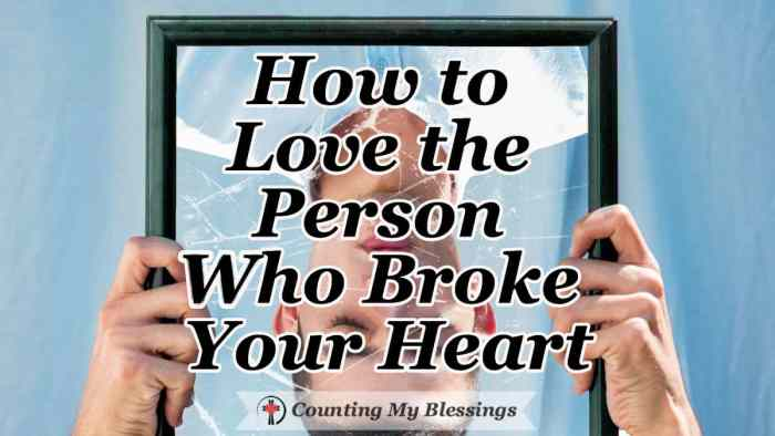 "Jesus said, ""Love your enemies."" Today, the person who broke your heart feels like an enemy. But Jesus didn't just say to do it, He told us how. #Relationships #BrokenHeart #Faith #BibleStudy #Jesus"