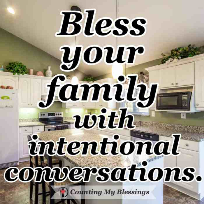 There are three simple questions you can ask that will encourage family conversations, bless your relationships, and grow your faith. #FamilyTime #ConversationStarters #Faith #FamilyGoals