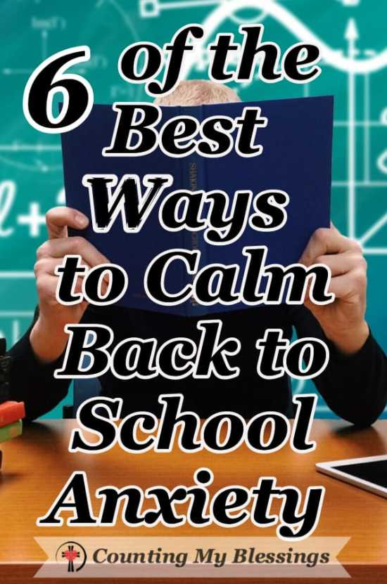 Back to school anxiety is normal for students, parents, and teachers. There are helpful things you can do to prepare and start the year with less stress. #schooltips #firstdayofschool #anxietyrelief #prayer #planning #schoolplanning #teachers