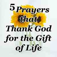 5 Prayers that Thank God for the Gift of Life