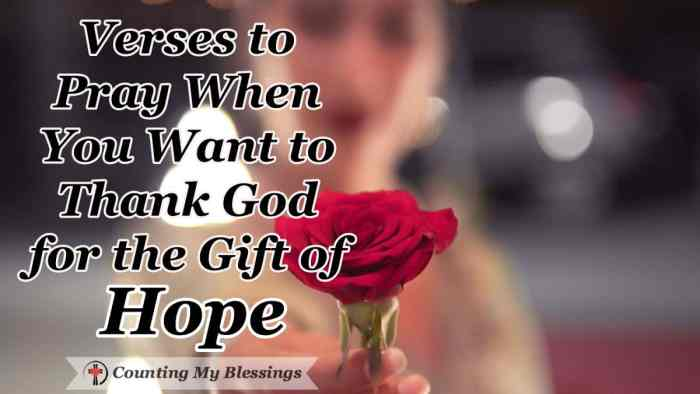 When I've prayed and prayed and waited and waited, when life is hard and circumstances frighten me ... I'm praying and thanking God for the gift of hope. #Prayer #Blessings #Hope #Faith #Godlovesyou
