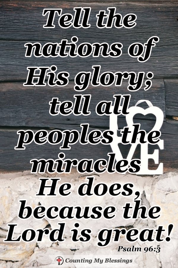 The Bible says God is glorious but how can you and I describe God's glory in ways that people who need Him can understand? #WWGGG #DescribeGod'sGlory #Faith #Blessings