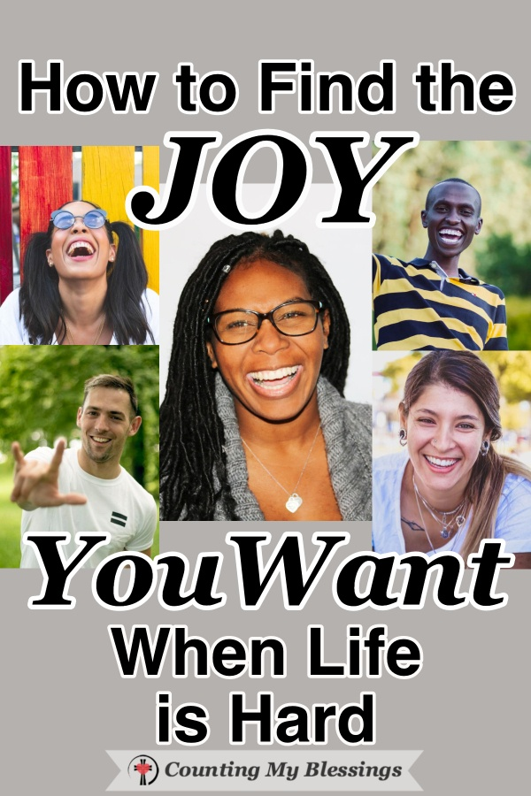 Everyone wants to live with joy, but it can feel impossible when life is hard. How are you and I supposed to find the joy we want. Let's take a closer look... #WWGGG #BlessingCounters #HisGraceGirls #CountingMyBlessings #ChooseJoy