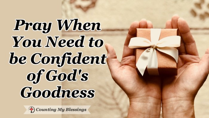 "The most common question about faith is ""How can I believe in God's goodness when He allows suffering?"" When doubts arise it's time to turn to Him in prayer. #Prayer #GodisGood #BibleStudy #Faith #WWGGG #CountingMyBlessings"