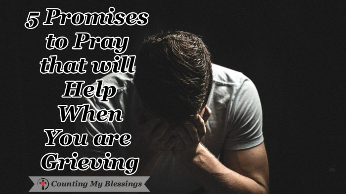 "It's hard to find the words to pray when you are grieving. We tend to cry ""why"" through exhausted tears and pain. But God gave His promises to pray. #Grief #VersestoPray #PromisesofGod #CountingMyBlessings #WWGGG #BlessingBloggers"