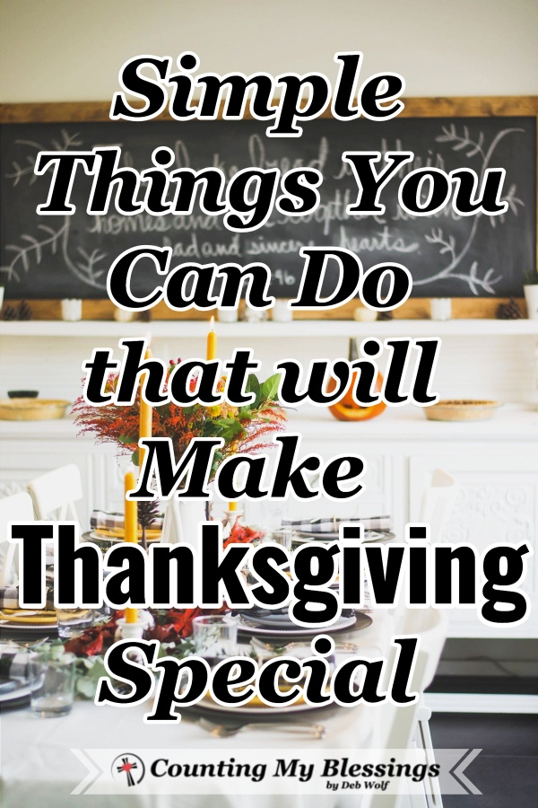 It's easy to hurry through the day's festivities but what if we could make thanksgiving special and fresh by adding some memorable new traditions? #Thanksgiving #GiveThanks #HolidayTraditions #FamilyMemories #CountingMyBlessings