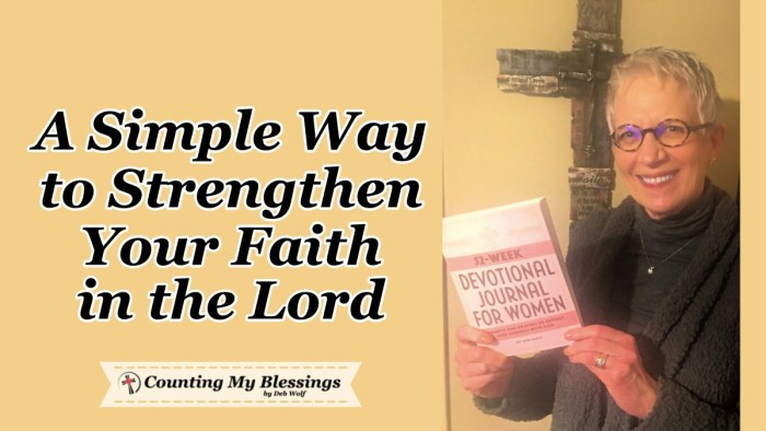 If you, like so many others, are longing to strengthen your faith in God, I believe this will help you and give you hope in the truth of His forever promises. #God'sPromises #StrongerFaith #Hope #NewBook #BookReview #Journal #Women'sJournal #CountingMyBlessings #WWGGG