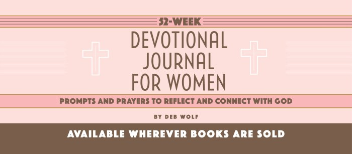 52-WEEK DEVOTIONAL JOURNAL FOR WOMEN _ Prompts and Prayers to Reflect and Connect with God