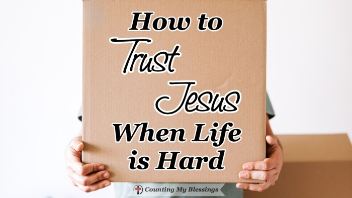 No one wants to suffer. So, how do we trust Jesus when life is hard? We turn to Him, remember all He's done in the past & believe His promises for the future. #TrustJesus #BibleStudy #FAith #Matthew16 #CountingMyBlessings #BlessingBloggers #WWGGG