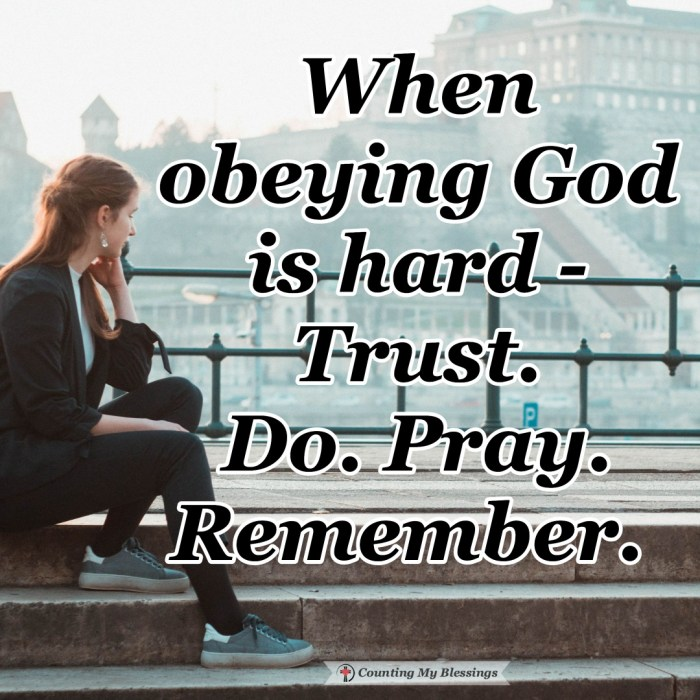 We want to have the strength we need but sometimes obeying God is hard. But Mary and Joseph can be examples of faith and obedience even when it's difficult. #JesusBirth #BibleStudy #ObeyGod #Faith #CountingMyBlessings #BlessingBloggers