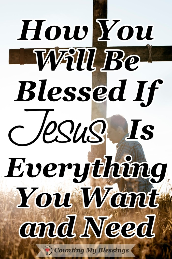 Carry your cross. Count the cost. Words that don't sound like Jesus. But He invites His followers to know that when He is what we want we have all we need. #Jesus #BibleStudy #CarryYourCross #CountingMyBlessings #WWGGG