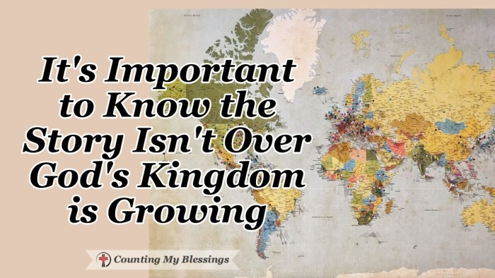 The message of the early Christian church continues today. The Holy Spirit is still at work in our lives and the Kingdom is still growing. Praise God. #Church #Faith #God'sKingdom #Blessings