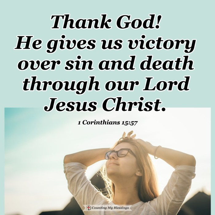 By God's grace, we have been given victory in Jesus through faith in His life, death, and resurrection. Through Him, the pain of death is defeated forever. #Jesus #Victory #BibleStudy #Easter #Blessings