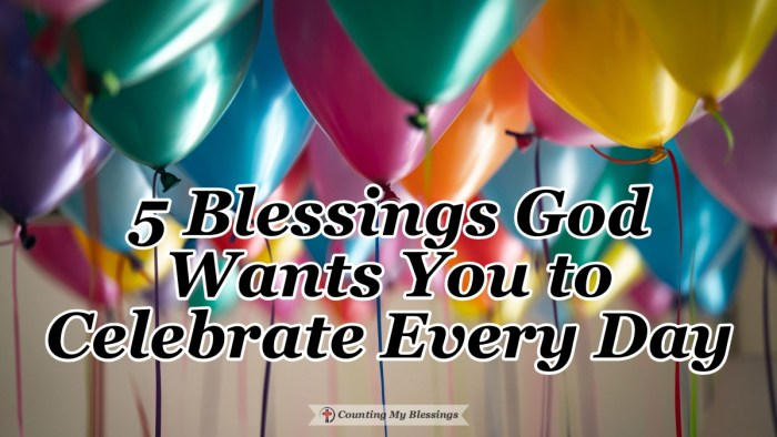 """Maybe you've heard the saying, """"God is good all the time. All the time God is good."""" His blessings are something to celebrate every day.  #Faith #Blessings #GodisGood #BibleStudy"""