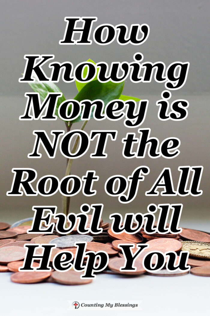 Money is not the root of all evil. But your attitude about your money will have a huge impact on your life. Find out how to enjoy contentment and fulfillment. #Money #Contentment #Satisfaction #Blessings