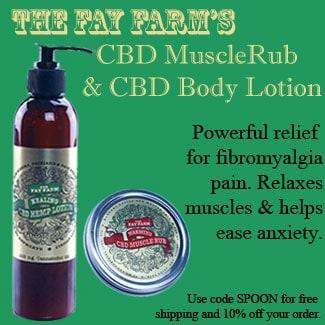 Fay Farms CBD Muscle Rub and Body Lotion