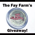 Giveaway Time! Fay Farm CBD Oil Rub