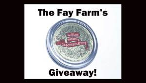 Fay Farm CBD Oil Product Giveaway