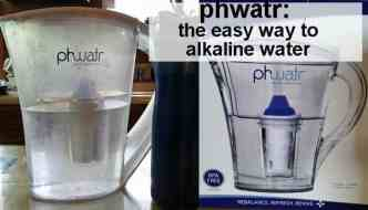 pHwatr: The easy way to alkaline water