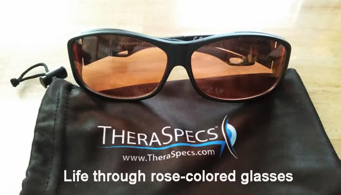 Theraspecs - life through rose-colored glasses