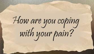 How are you coping with your chronic pain?