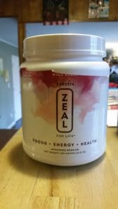 Zeal for Life drink supplement