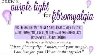 Shine a Purple Light on Fibro