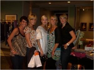 Chelsea Charles Gossett and friends