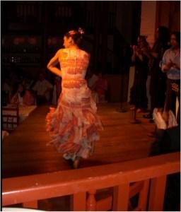 Flamenco dancer in Spain
