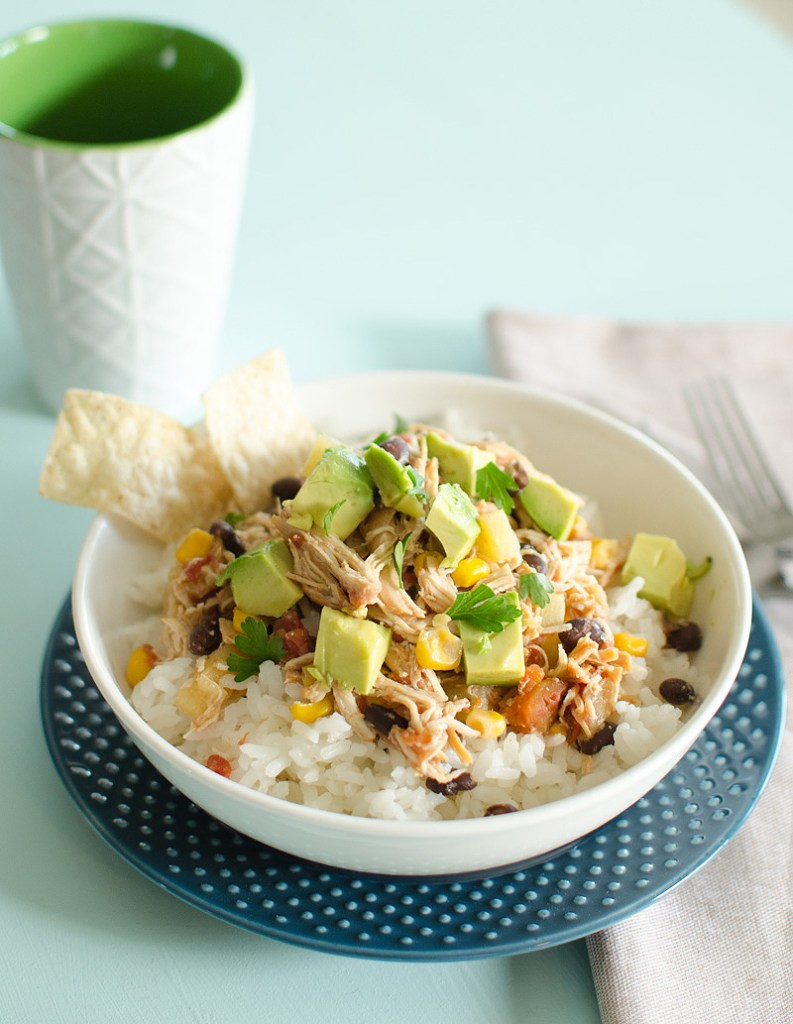 Crockpot Mexican Pineapple Chicken