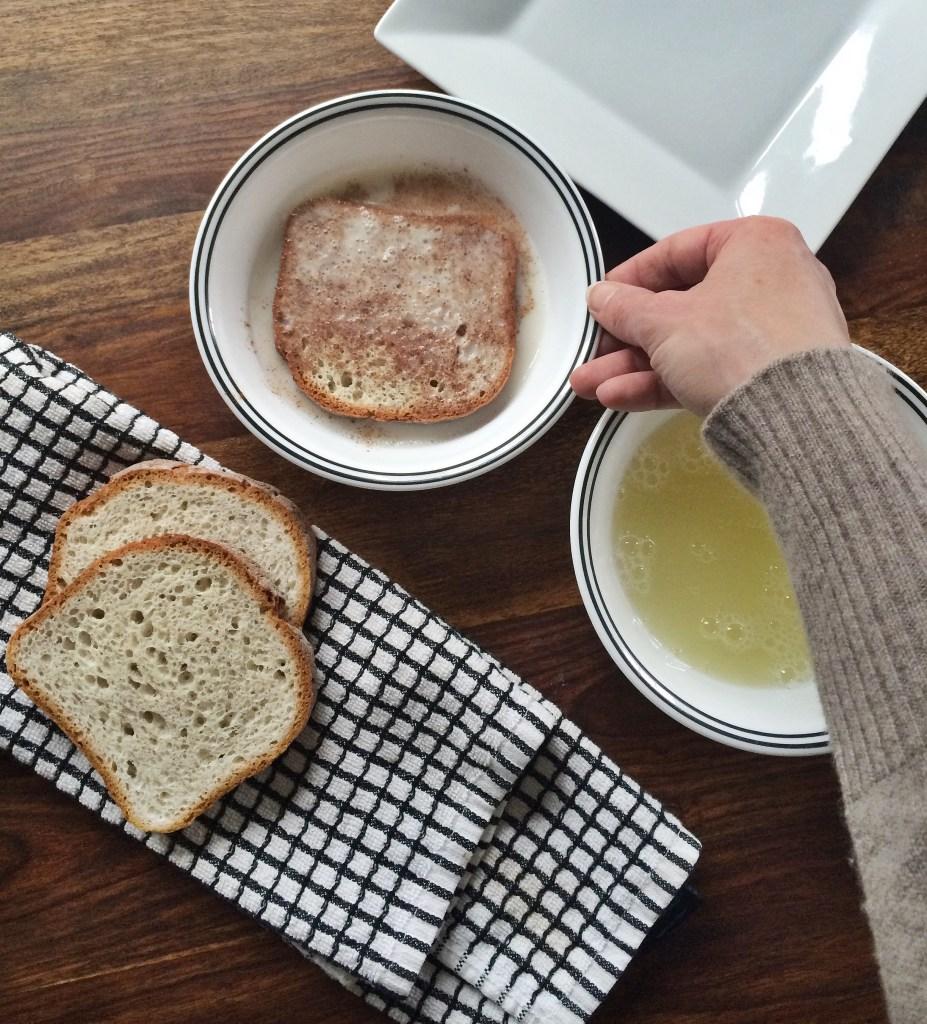 Skinny Gluten Free French Toast via Spring & Chelsea