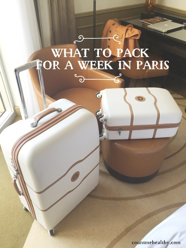 What to Pack for a Week in Paris