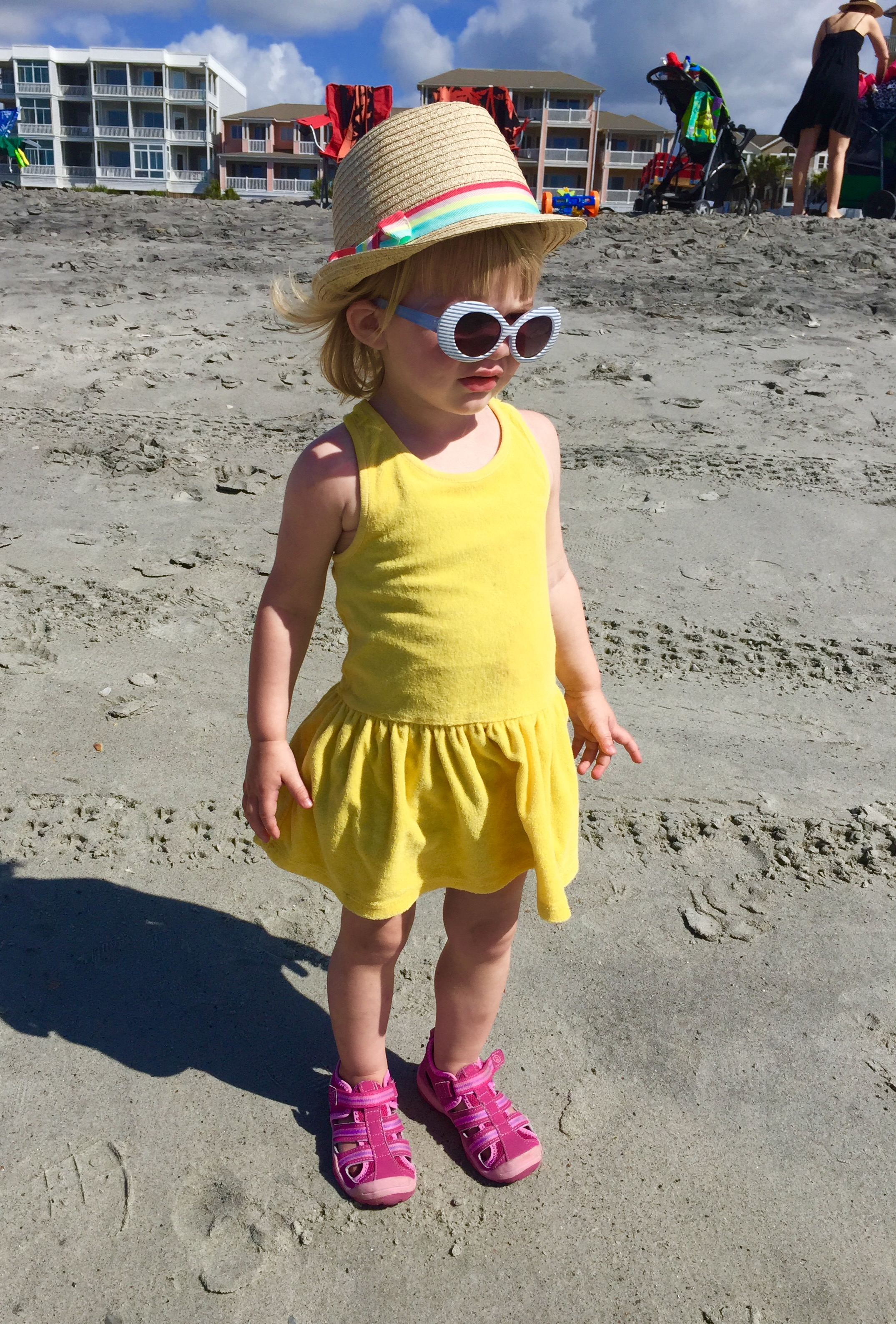 what to pack for a VRBO beach adventure with toddler