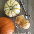 Skinny pumpkin pie ice cream