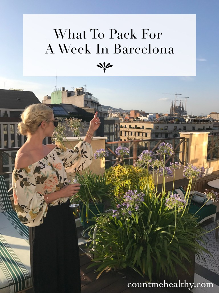 What to Pack for a Week in Barcelona