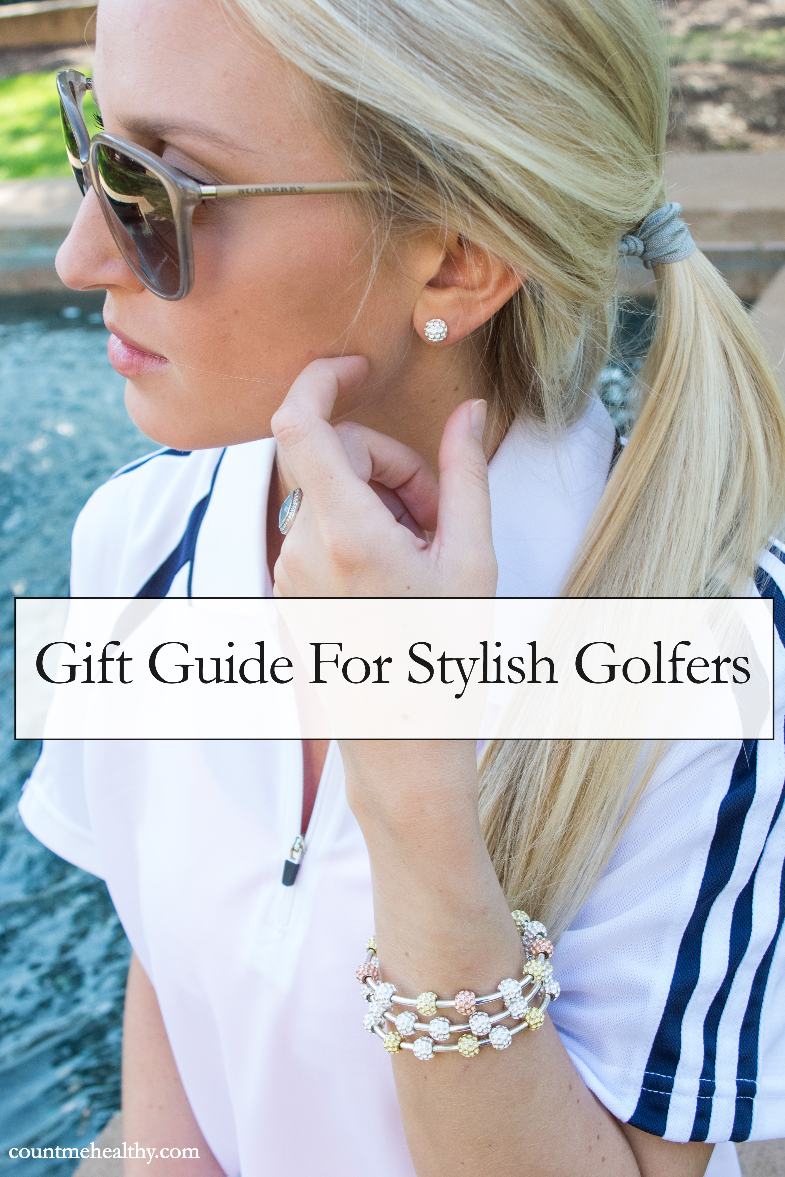 Stylish Gifts For Women Who Golf via Count Me Healthy