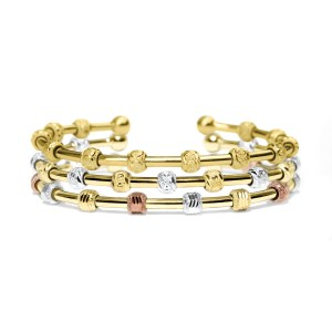 Count Me Healthy by Chelsea Charles Kristie bracelet stack