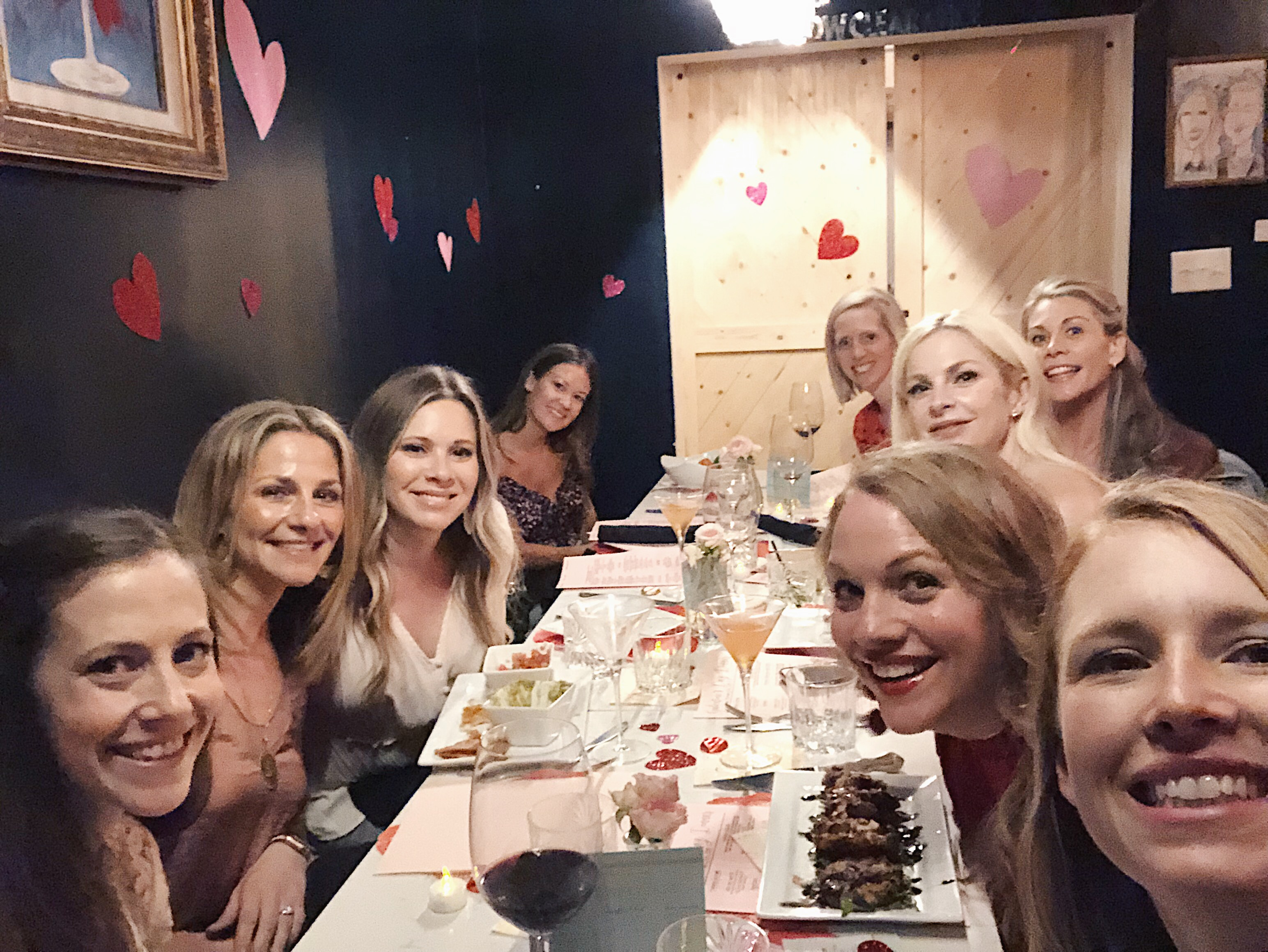 Host a Galentine's Dinner