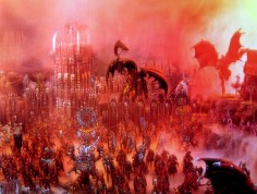 Plastic Warhammer Age of Sigmar scenery set castle