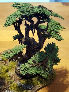 Tree from the Citadel forest by Games Workshop