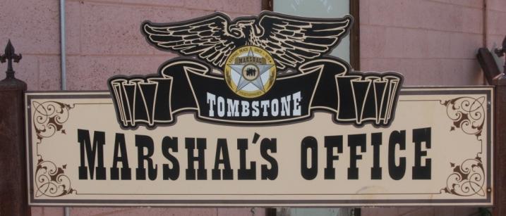 Tombstone - Le Bureau du Marshall