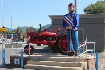 Flagstaff, décor sur la Route 66