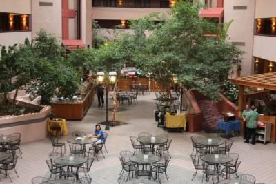 Petit déjeuner au Viscount Suite Hotel de Tucson