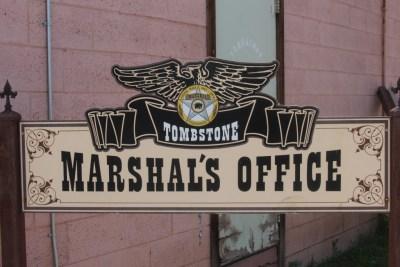 Tombstone Marshall Office