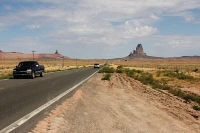 En route vers Monument Valley