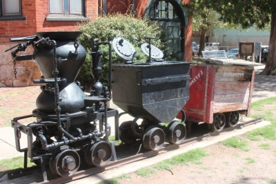 Bisbee - Souvenirs de l'époque de l'exploitation minière.