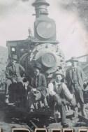 Bisbee - Photo de l'époque de l'exploitation minière.