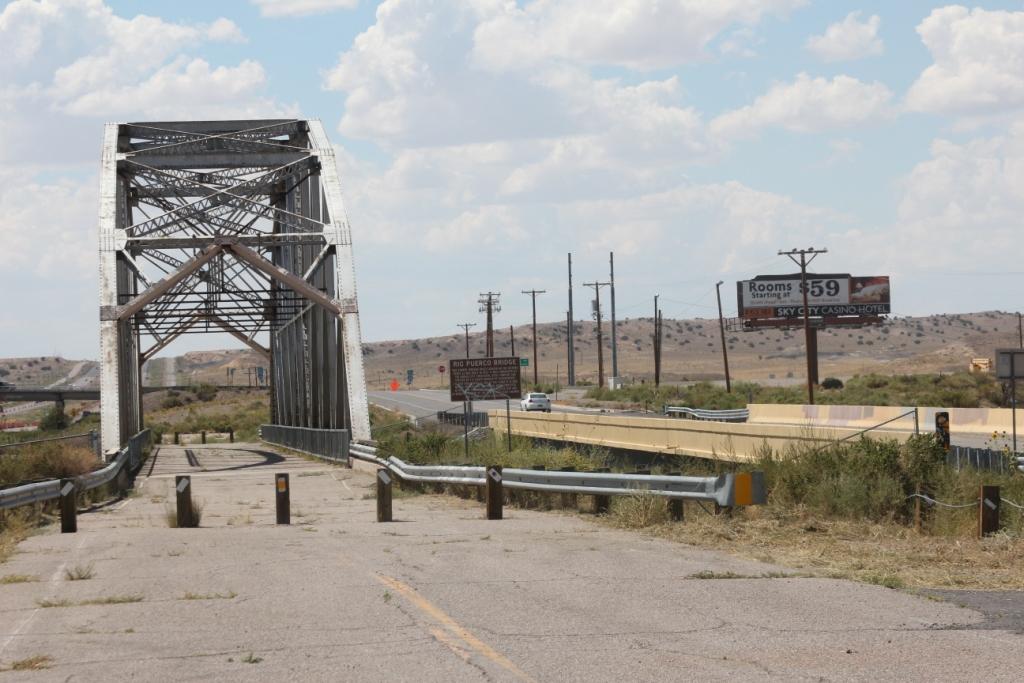 Rio Puerco Bridge, sur l'historique Route 66