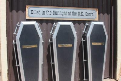 Tombstone - Les cercueils du Règlement de compte à OK Coral